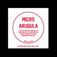 MICRO ARUGULA (RUCOLA CRESS) REFILLS