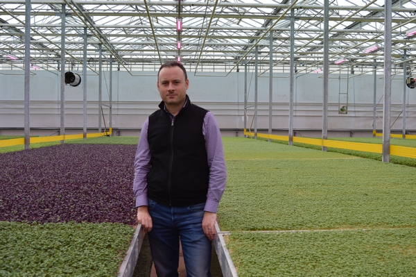 """I believe good things will come out of this"" Nicolas Mazard with Koppert Cress USA dba Flavour Fields®"